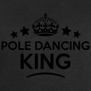 pole dancing king keep calm style crown  T-SHIRT - Men's Sweatshirt by Stanley & Stella