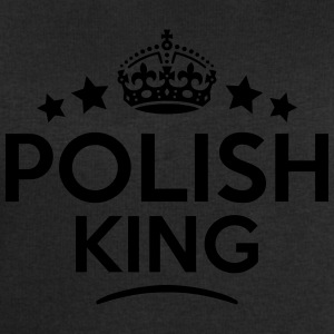 polish king keep calm style crown stars T-SHIRT - Men's Sweatshirt by Stanley & Stella