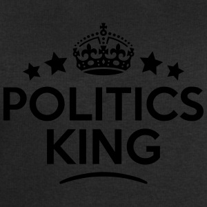 politics king keep calm style crown star T-SHIRT - Men's Sweatshirt by Stanley & Stella