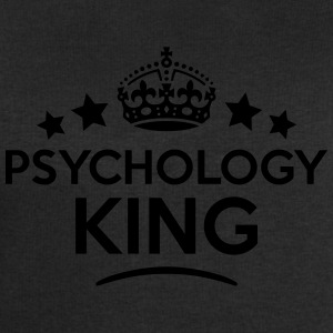 psychology king keep calm style crown st T-SHIRT - Men's Sweatshirt by Stanley & Stella
