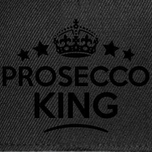prosecco king keep calm style crown star T-SHIRT - Snapback Cap