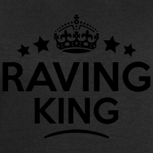 raving king keep calm style crown stars T-SHIRT - Men's Sweatshirt by Stanley & Stella