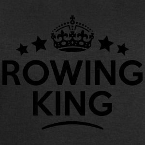 rowing king keep calm style crown stars T-SHIRT - Men's Sweatshirt by Stanley & Stella