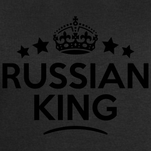 russian  king keep calm style crown star T-SHIRT - Men's Sweatshirt by Stanley & Stella
