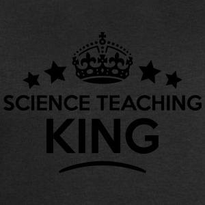science teaching king keep calm style cr T-SHIRT - Men's Sweatshirt by Stanley & Stella
