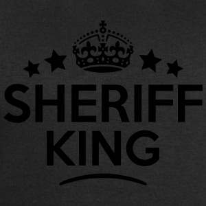 sheriff king keep calm style crown stars T-SHIRT - Men's Sweatshirt by Stanley & Stella