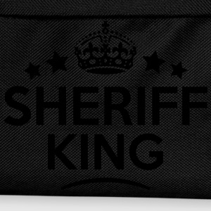 sheriff king keep calm style crown stars T-SHIRT - Kids' Backpack
