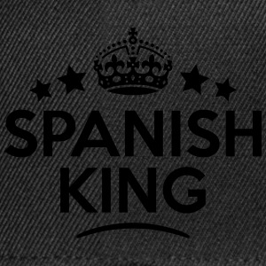 spanish king keep calm style crown stars T-SHIRT - Snapback Cap