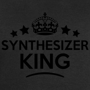 synthesizer king keep calm style crown s T-SHIRT - Men's Sweatshirt by Stanley & Stella