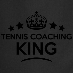 tennis coaching king keep calm style  T-SHIRT - Cooking Apron