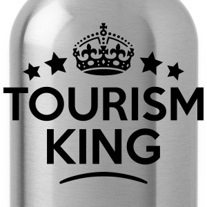 tourism king keep calm style crown stars T-SHIRT - Water Bottle