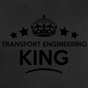 transport engineering king keep calm sty T-SHIRT - Men's Sweatshirt by Stanley & Stella