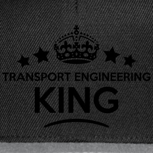 transport engineering king keep calm sty T-SHIRT - Snapback Cap