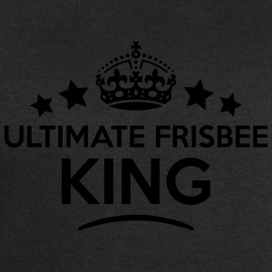 ultimate frisbee king keep calm style cr T-SHIRT - Men's Sweatshirt by Stanley & Stella