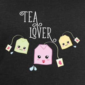 Black Tea bag kawaii Mugs & Drinkware - Men's Sweatshirt by Stanley & Stella
