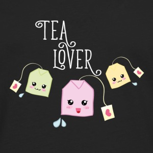 Black Tea bag kawaii Mugs & Drinkware - Men's Premium Longsleeve Shirt