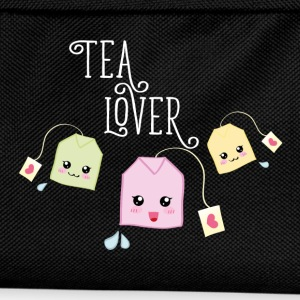 Noir Tea bag kawaii Tee shirts - Sac à dos Enfant