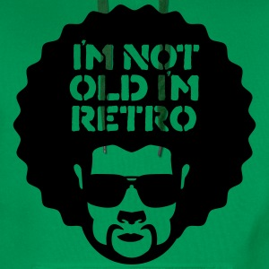 im not old im retro T-Shirts - Men's Premium Hoodie