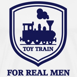 Toy train - Männer Premium T-Shirt