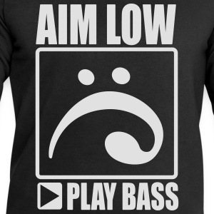 aim low, play bass T-Shirts - Männer Sweatshirt von Stanley & Stella