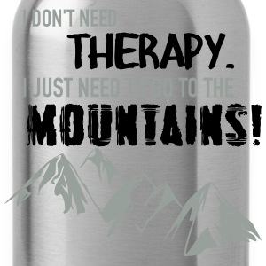 Therapy Mountains T-Shirts - Water Bottle