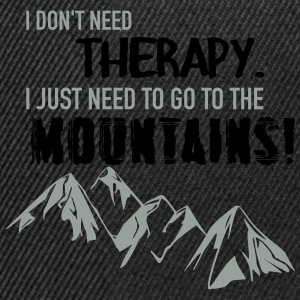 Therapy Mountains T-Shirts - Snapback Cap