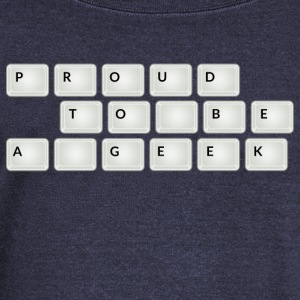 Proud to be a geek Tee shirts - Pull Femme col bateau de Bella