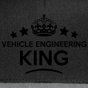 vehicle engineering king keep calm style T-SHIRT - Snapback Cap