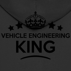 vehicle engineering king keep calm style T-SHIRT - Men's Premium Hooded Jacket