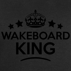 wakeboard king keep calm style crown sta T-SHIRT - Men's Sweatshirt by Stanley & Stella