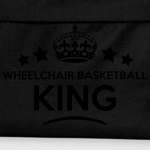 wheelchair basketball king keep calm sty T-SHIRT - Kids' Backpack
