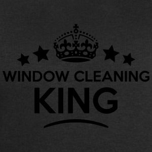window cleaning king keep calm style  T-SHIRT - Men's Sweatshirt by Stanley & Stella