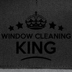 window cleaning king keep calm style  T-SHIRT - Snapback Cap