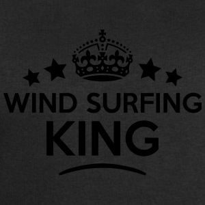 wind surfing king keep calm style crown  T-SHIRT - Men's Sweatshirt by Stanley & Stella