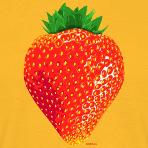 Strawberry - Männer T-Shirt