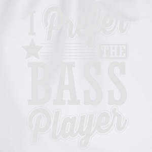 I prefer the bass player Tops - Turnbeutel