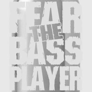 Fear the bass player T-Shirts - Trinkflasche