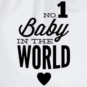 no1 baby in the world T-shirts - Sportstaske