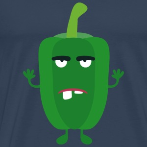 Peppers angered Green Other - Men's Premium T-Shirt