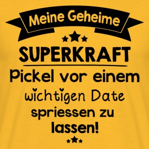 Pickel / Superkraft Tops - Männer T-Shirt