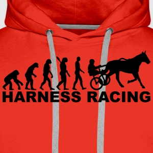 Evolution Harness Racing T-Shirts - Männer Premium Hoodie