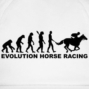 Evolution horse racing T-Shirts - Baseballkappe