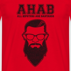 ALL HIPSTERS ARE BASTARDS - Funny Parody  Mugs & Drinkware - Men's T-Shirt