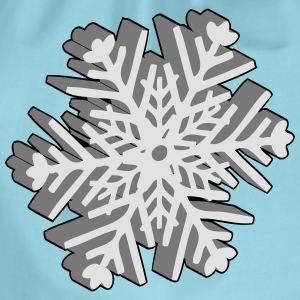 Christmas snowflake T-Shirts - Drawstring Bag