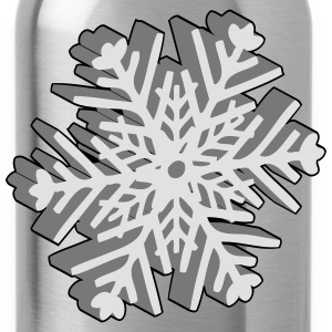 Christmas snowflake T-Shirts - Water Bottle