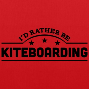 id rather be kiteboarding banner t-shirt - Tote Bag