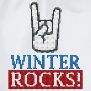 Winter Rocks T-Shirts - Turnbeutel