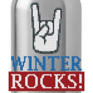 Winter Rocks T-Shirts - Trinkflasche