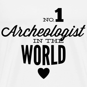The best archaeologist of the world Tops - Men's Premium T-Shirt