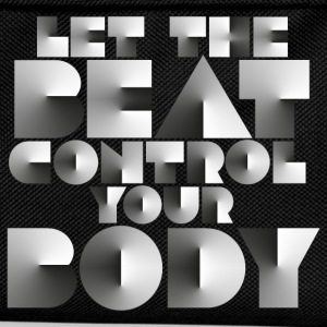 LET THE BEAT CONTROL YOUR BODY - Kinder Rucksack